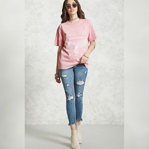 Tops - Mineral Wash Graphic Tee